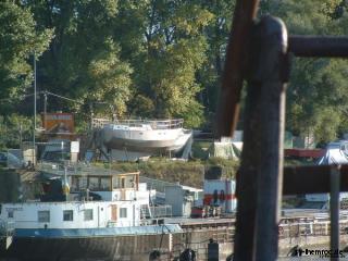Schiff im Bau 2005