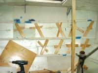 Wand 1. Schicht