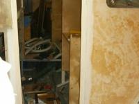 Waschraumwand
